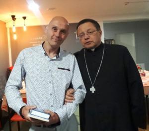 Bierzmowany z Arcybiskupem